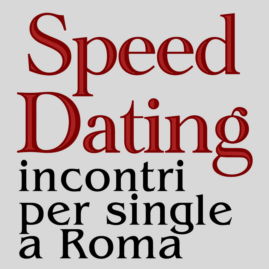 SPEED DATING AL CHIARO DI LUNA